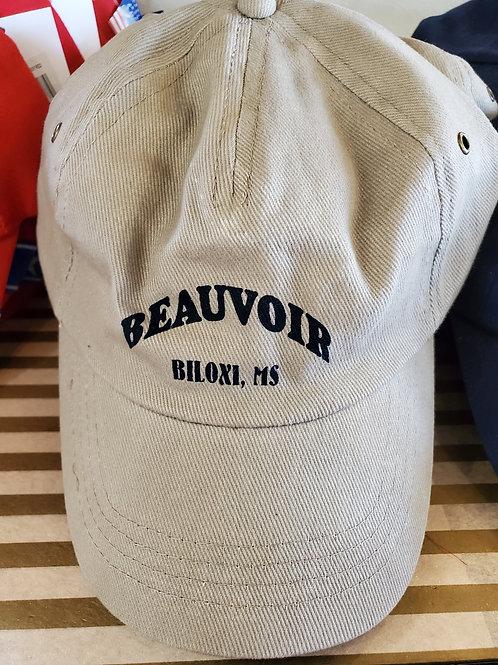 Beauvoir Tan Adjustable Baseball Cap