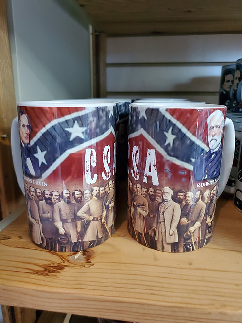 Extra Large Lee and Generals Mug