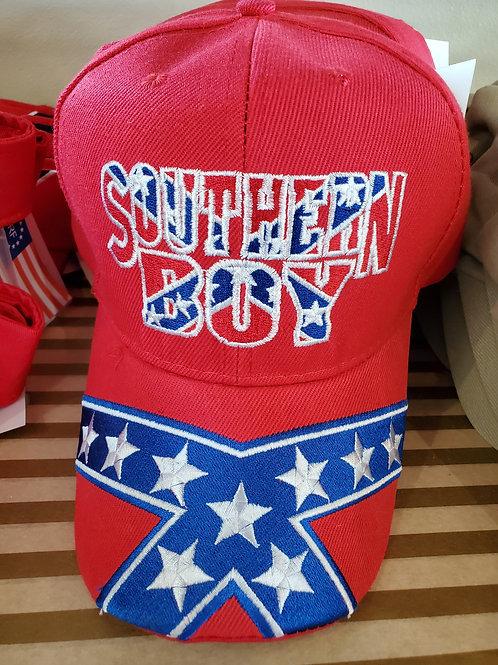 Southern Boy Rebel Velcro Baseball Cap