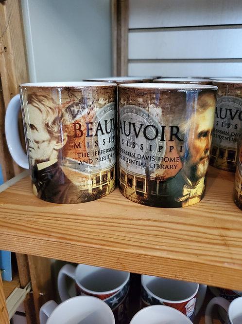 Beauvoir Double-Head Mug