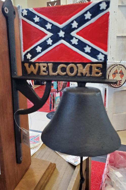 Rebel Flag Welcome Bell