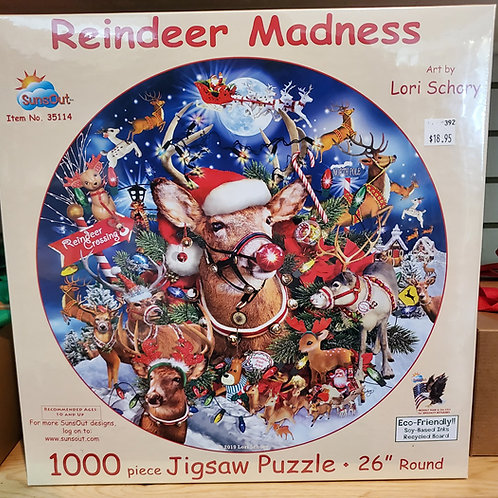 Reindeer Madness Puzzle