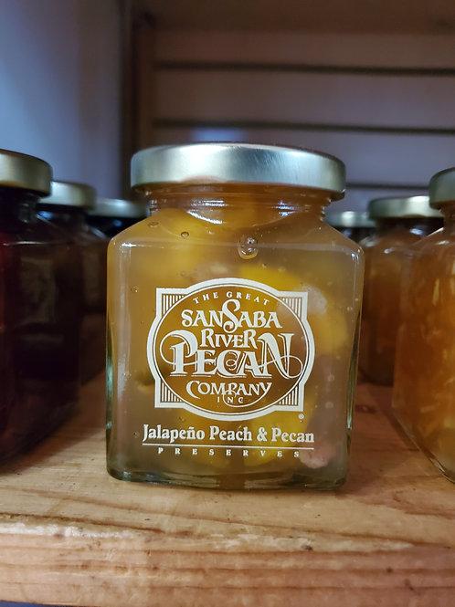 Jalapeno Peach and Pecan Preserves