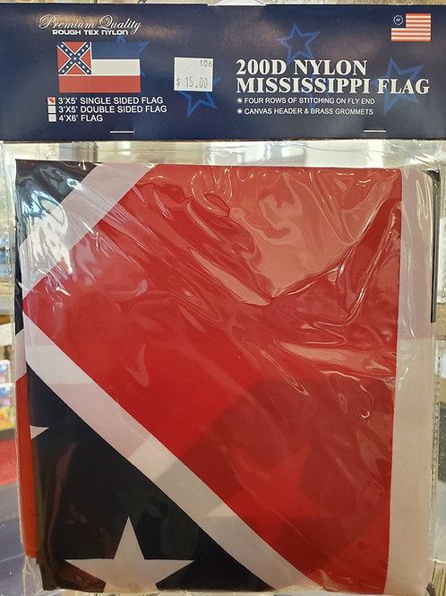 200D Nylon 1894 MS State Flag