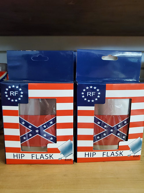 Battle Flag Hip Flask
