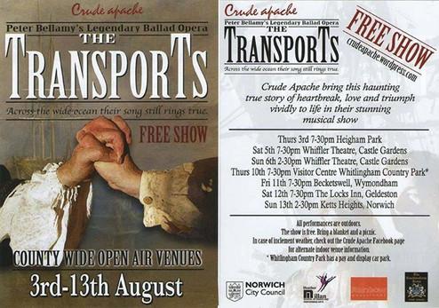 The Transports - Tour