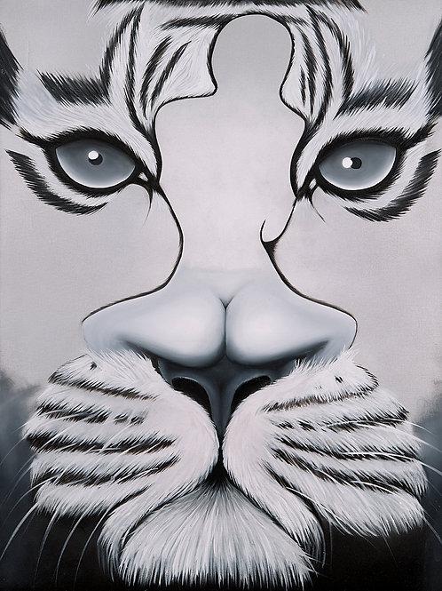 """Tiger Silhouette"""