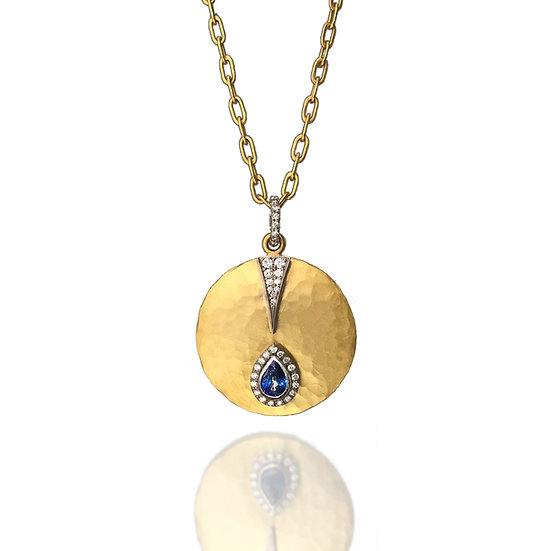 Mandalay Disc Necklace