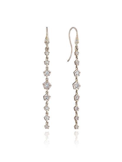 Dangling Hex Earrings