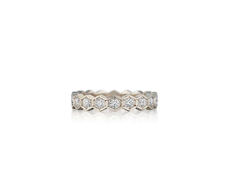 Vintage Hex Ring