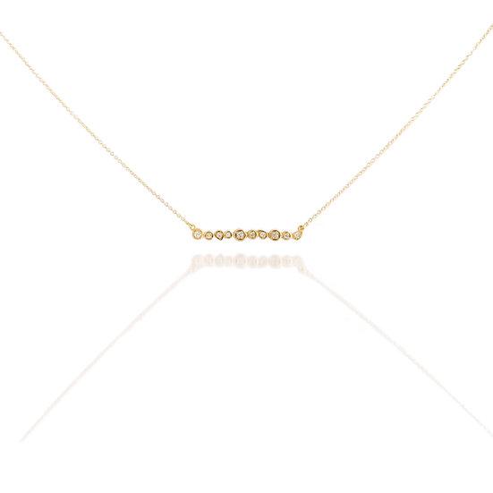 Diamond Rock Necklace