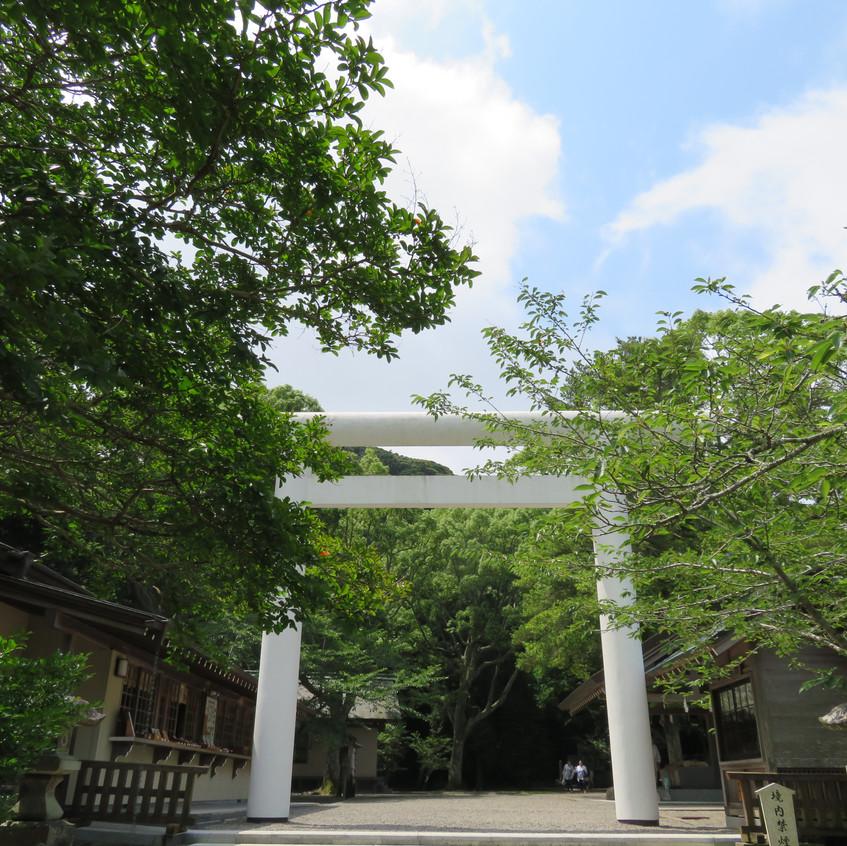 安房神社二の鳥居