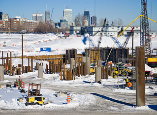 Managing your construction site in winter
