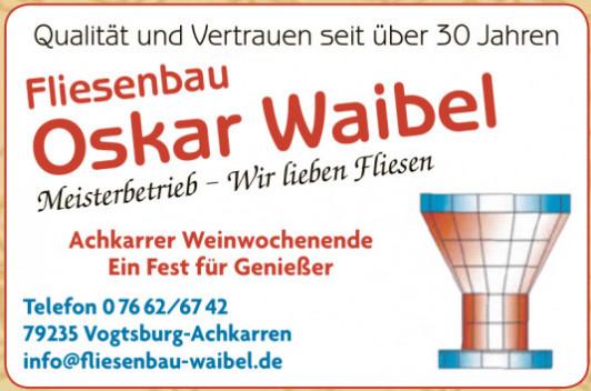 Fliesenbau Oskar Waibel