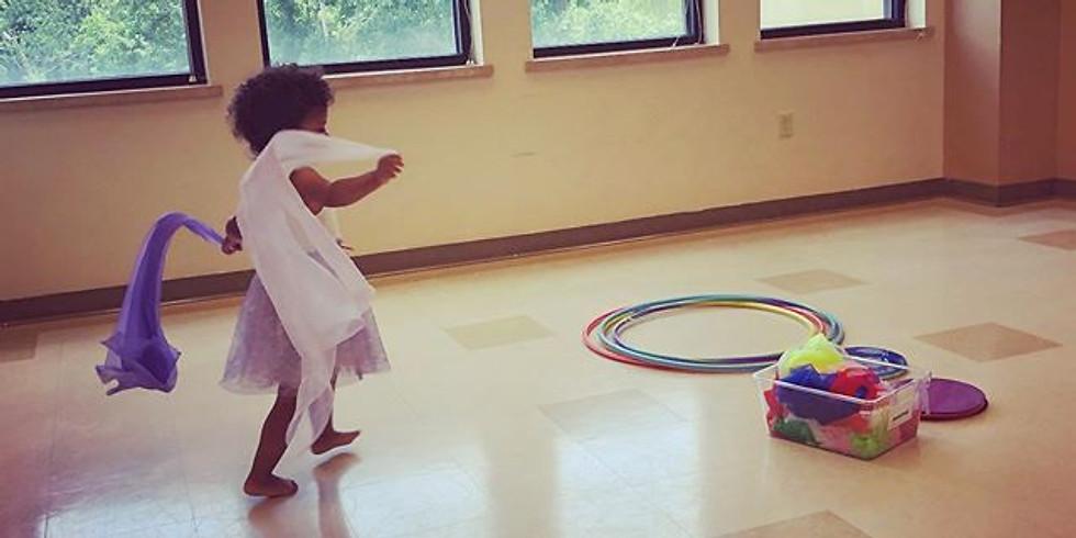 Parent/Child Creative Dance. Theme: TRAVEL