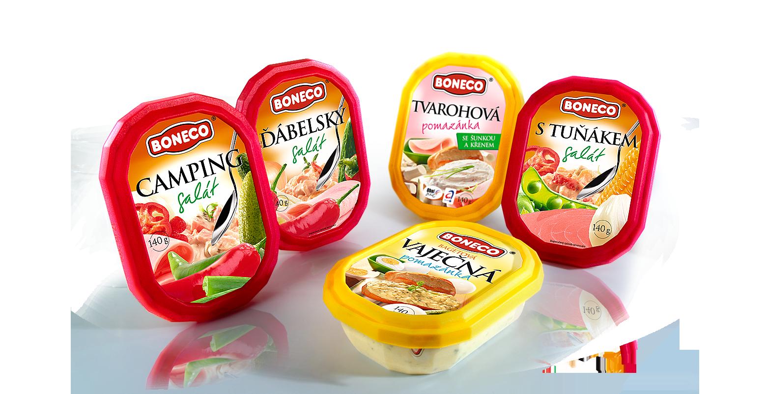Boneco salads