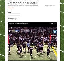 Video Quiz #5