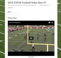 Video Quiz #1