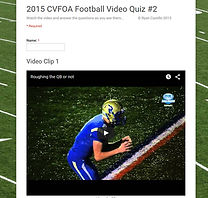 Video Quiz #2