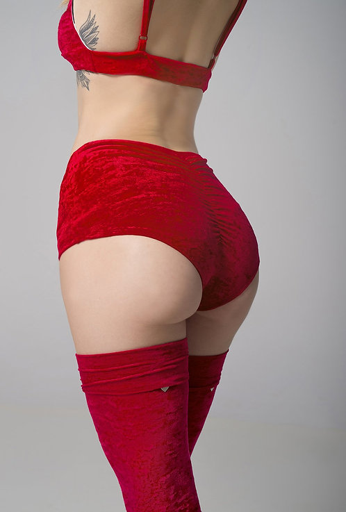 RAD - Eve Shorts - Red Velvet