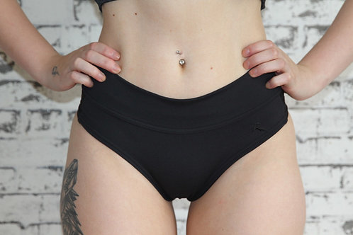 Rarr Designs - Studio Mesh Booty Shorts - Black