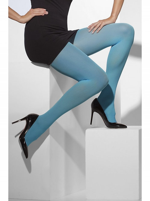 Fever - Opaque Pantyhose / Tights - Blue