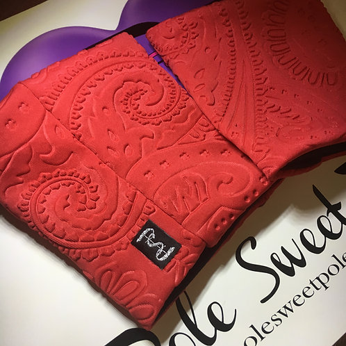 PSP Platform Protectors - Limited Red Embossed Fabric