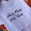 Thumbnail: PSP - White Hi Lo Crop Top - Hair Flicks & Pole Tricks - Black Glitter