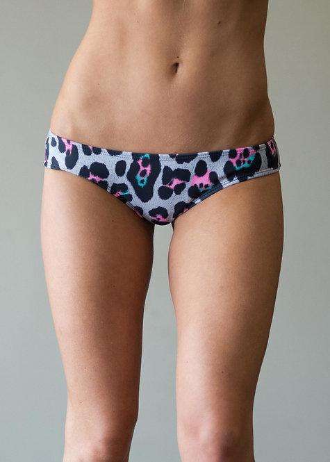 Vekker LA Limited Print Pastel Cheetah Cheeky Bottom Pole Shorts