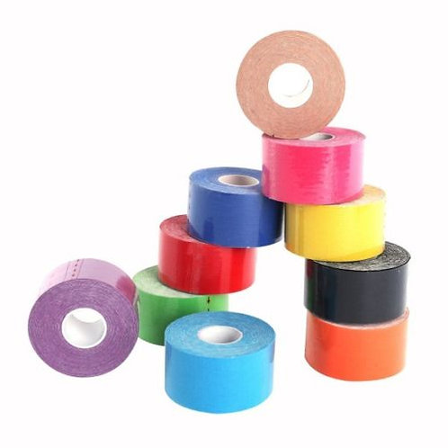 Coloured Kinesiology Tape 5 Meter Roll - 24mm