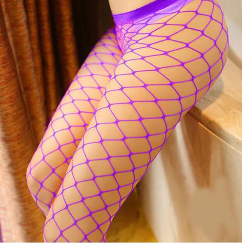 Pole Sweet Pole Basic Whale Net Tights Purple