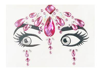 Forehead Gems Design #2