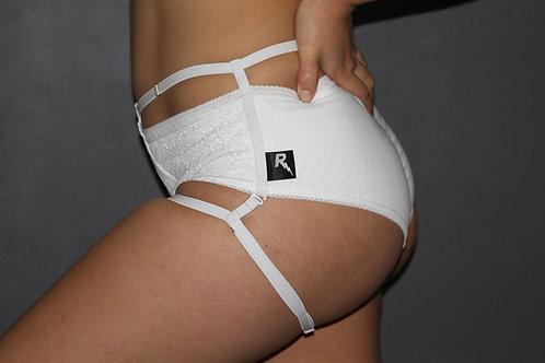 Rarr Designs - Vixen Lace Shorts - White