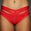 Thumbnail: Rarr - Red Luxe Shorts - Scrunch Bum