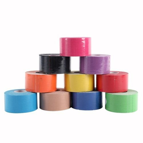 Coloured Kinesiology Tape 5 Meter Roll - 38mm