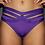 Rarr Designs Shorts Purple Luxe Front