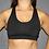 Thumbnail: Rarr - Black Fine Line Sports Bra