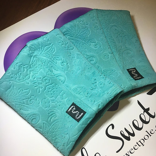 PSP Platform Protectors - Limited Turquoise Embossed Fabric