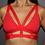 Thumbnail: Rarr - Red Luxe Bra