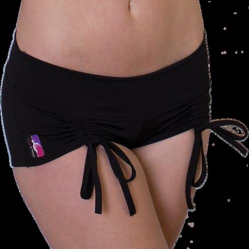 Bad Kitty Cinch Shorts in black
