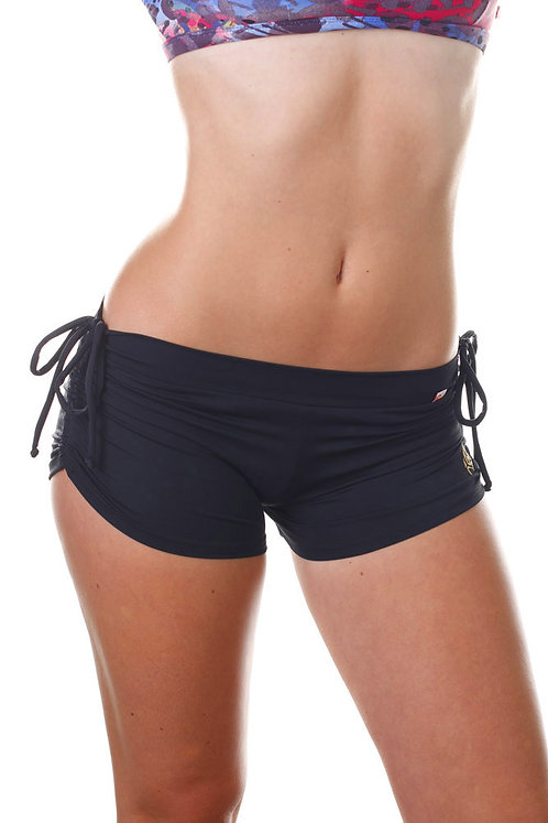 Shakti - Side String Shorts - Black