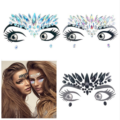 Forehead Gems Design #1