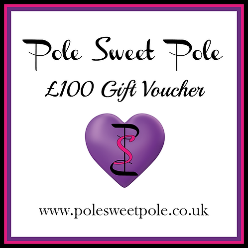 £100 Pole Sweet Pole Gift Voucher