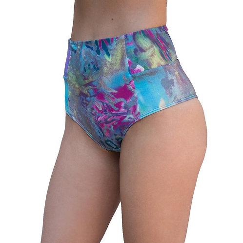 VEKKER - High Waisted Shorts - Jungle Print