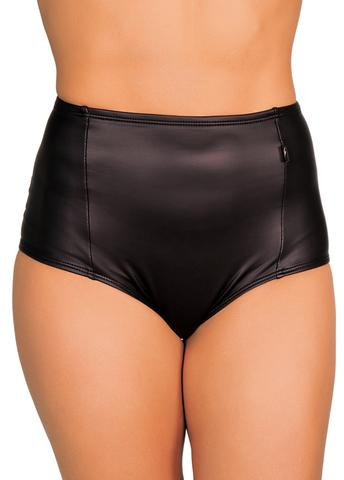 Cleo - Stealth High Waisted Hot Pants