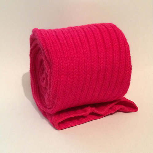 Extra Long 90cm Stirrup Leg Warmers - FUCHSIA