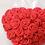 Thumbnail: Rose Heart Nipple Tassel Pasties - 1 x Pair