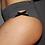 Thumbnail: Rarr - Charcoal Criss Cross Booty Shorts - Scrunch Bum
