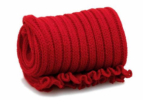 Extra Long 90cm Stirrup Leg Warmers - RED