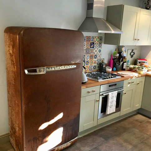1950's Westinghouse Refurbished Fridge - Cotswold Cottage